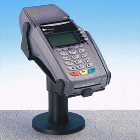 verifone credit card machine stand
